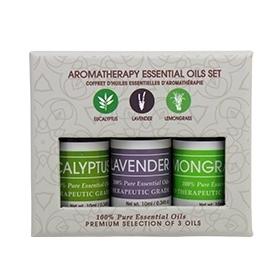 FLPL-3 Piece Aromatherapy Set