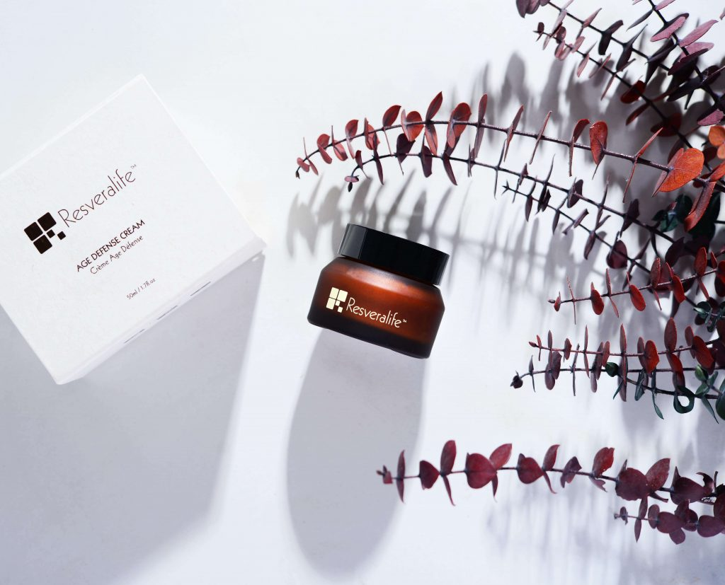 Resveralife product with packaging