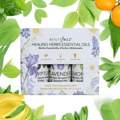 Healing Herbs 3 Oils Set