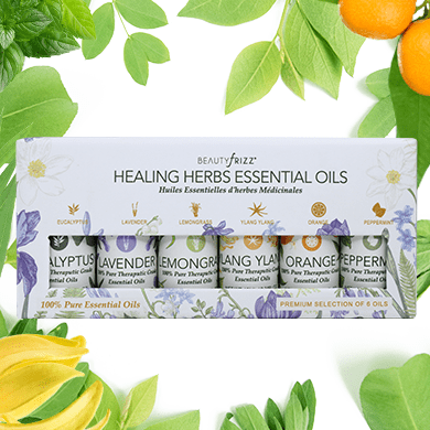 Healing Herbs 6 Oils Set