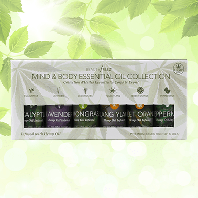 Mind Body Essential Oils collection 6 Pack