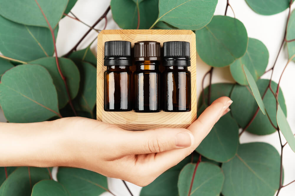 Private label aromatherapy bottles
